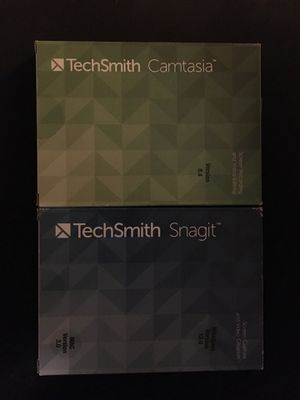 TECHSMITH CAMTASIA AND SNAGIT BUNDLE for Sale in Portland, OR