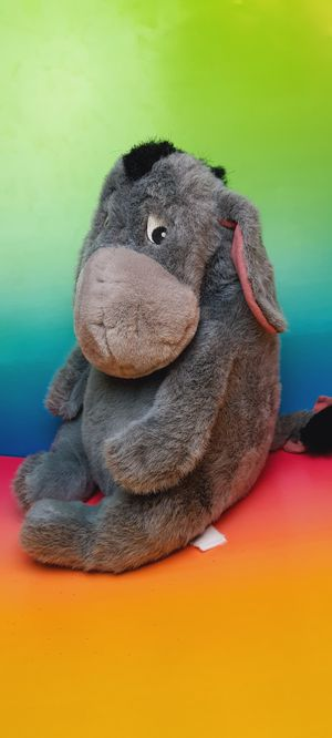 Disney Winnie the Pooh Eeyore Detachable Tail 15 Inch Plush Toy for Sale in Santa Ana, CA