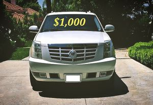 🍁$1,000 Selling my 2008 Cadillac Escalade.🍁 for Sale in Fresno, CA