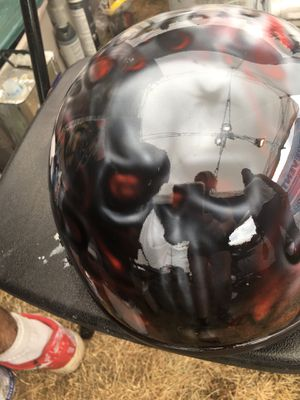 Free hand airbase motorcycle helmets and other art for Sale in Chesterfield, VA