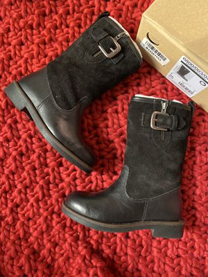 Zara girl's leather boots size 8 for Sale in Virginia Beach, VA