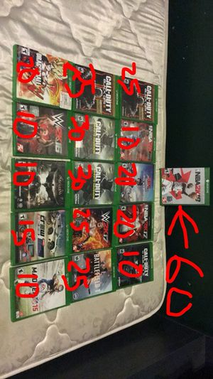 Xbox one games NEED GONE ASAP for Sale in Detroit, MI