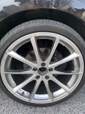 20 inch rims with tires for Sale in Ellicott City, MD