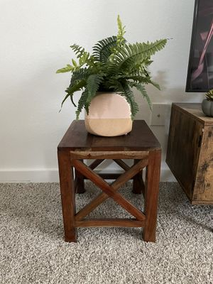 Wooden Stool for Sale in Pflugerville, TX