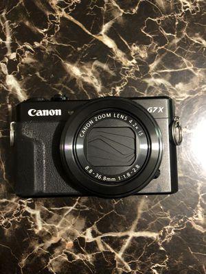 Canon G7X Mark II camera for Sale in Anaheim, CA