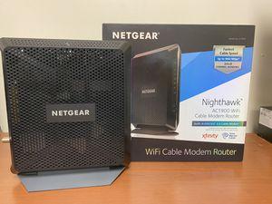 Modem, Router Netgear AC1900 for Sale in Miami, FL