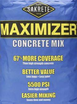 Concrete Mix 5500 PSI (4 x 80lbs) for Sale in Denton,  TX