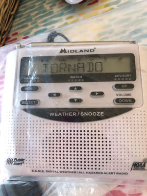 Midland WR 120 All hazards alert weather radio with SA ME for Sale in Ontarioville, IL