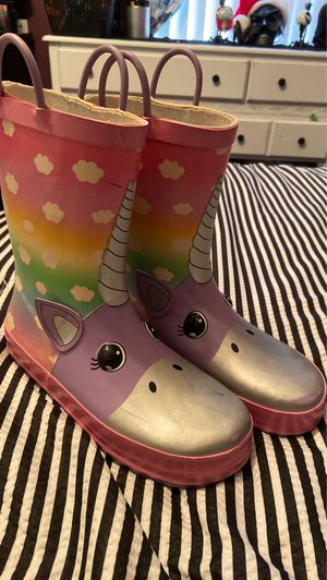 Girl rain boots for Sale in Palmdale, CA