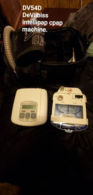 De vilbliss intellipap CPAP machine with built in humidifuer for Sale in North Highlands, CA