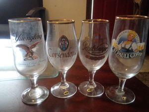 The Columbia House World Breweries Collection of Beer Glasses for Sale in Taylor, MI