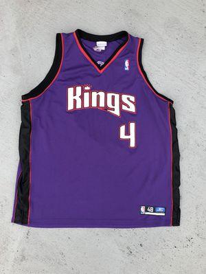 Vintage Rare 2001 NBA Reebok Sacramento Kings Chris Webber Alternate Jersey for Sale in Miami, FL