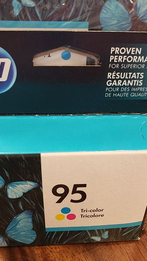 Hp 95 colored ink for Sale in Houston, TX