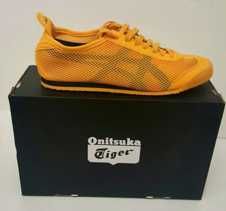 official photos eba02 fa3e4 Brand New Onitsuka Tiger Mexico 66 Shoes Gold/Black D508N Mens for Sale in  Milpitas, CA - OfferUp