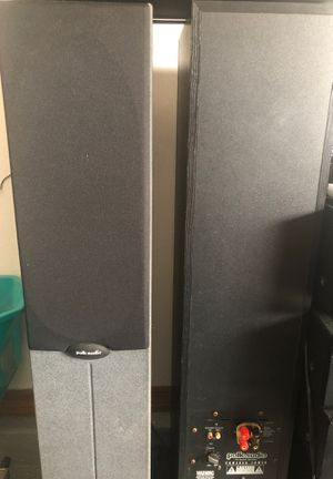 Polk audio powered speakers work beautiful for Sale in Tampa, FL