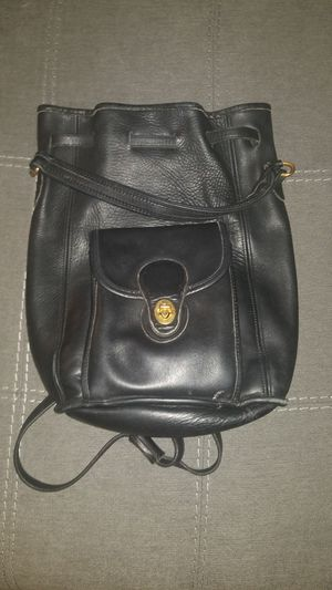 Real leather small backpack purse for Sale in Columbus, OH