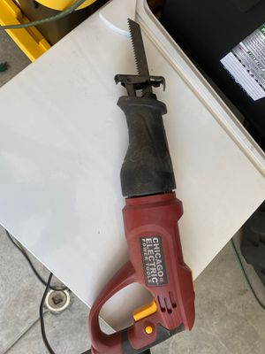 6 Amp Heavy Duty Variable Speed Rotating Handle Reciprocating Saw for Sale in Eastvale, CA