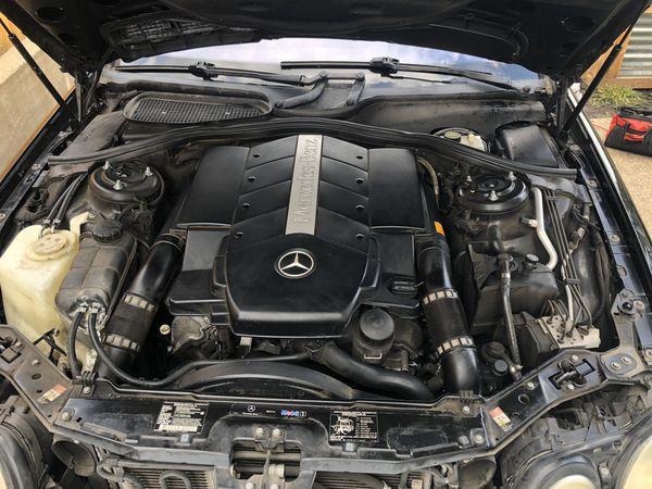 Mercedes CL 500 v8 5.0 2003