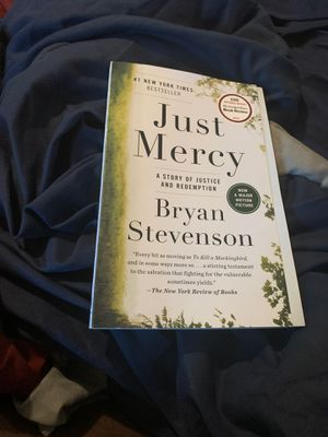 Just Mercy based on motion picture for Sale in Columbia, SC