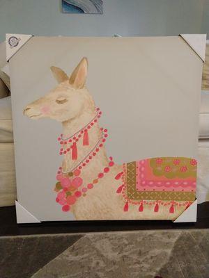 Llama canvas wall art for Sale in Oakton, VA