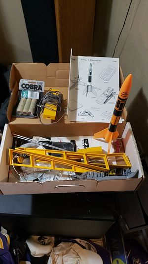 Estes model rocket alpha 3 starter set #1406 for Sale in Shakopee, MN