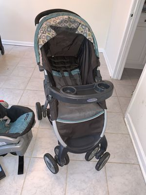 Graco Fastaction click connect stroller set for Sale in Alexandria, VA