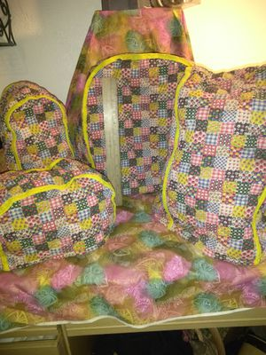 Vintage Mid Century Quilted Fabric Country Kitchen Appliances Covers for Sale in Pittsburgh, PA