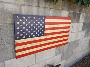 100% HAND MADE AMERICAN FLAG NEW for Sale in Alhambra, CA