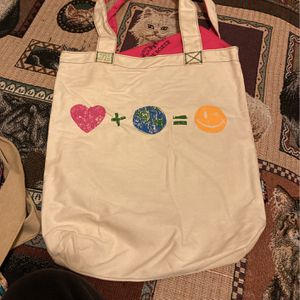 Peace And Love Tote Bag for Sale in East Riverdale, MD