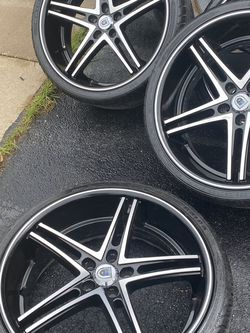 22 Staggered Asanti Wheels 5x120 255/30/22 -295/30/22 for Sale in Plainfield,  IL