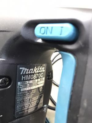 Makita demolition hammer 10 Amps for Sale in Austin, TX