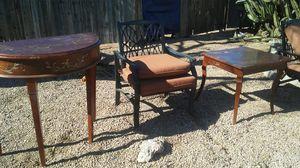 2 tables antique niece items for Sale in Apache Junction, AZ
