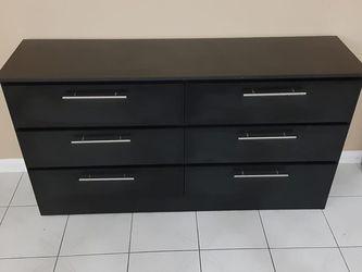 Black Dresser New ~ Comoda ~ Gavetero Negro Nuevo (BLACK or WHITE) for Sale in Miami,  FL