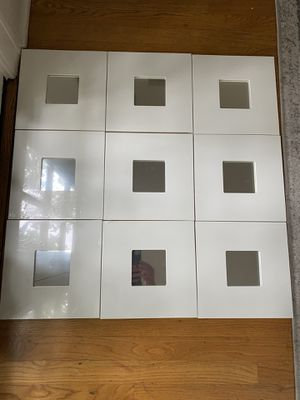 White Mirrors (9) for Sale in Los Angeles, CA