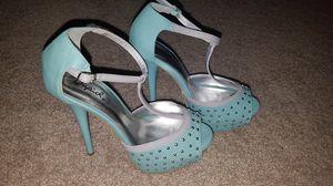 Open toe heels size 6 for Sale in Burbank, CA