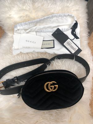 Gucci Marmont Velvet Belt Bag for Sale in Dublin, CA