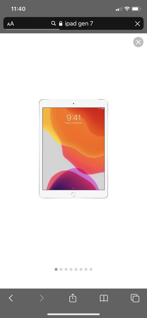 iPad gen 7 Brandnew for Sale in Cleveland, OH