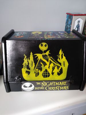 Nightmare Before Christmas bread box for Sale in Lillington, NC