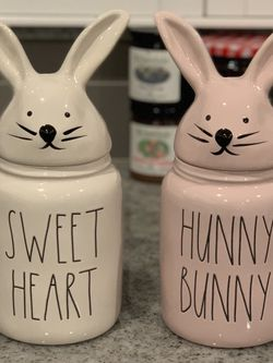 Rae Dunn Easter Bunny Canister for Sale in Moreno Valley,  CA