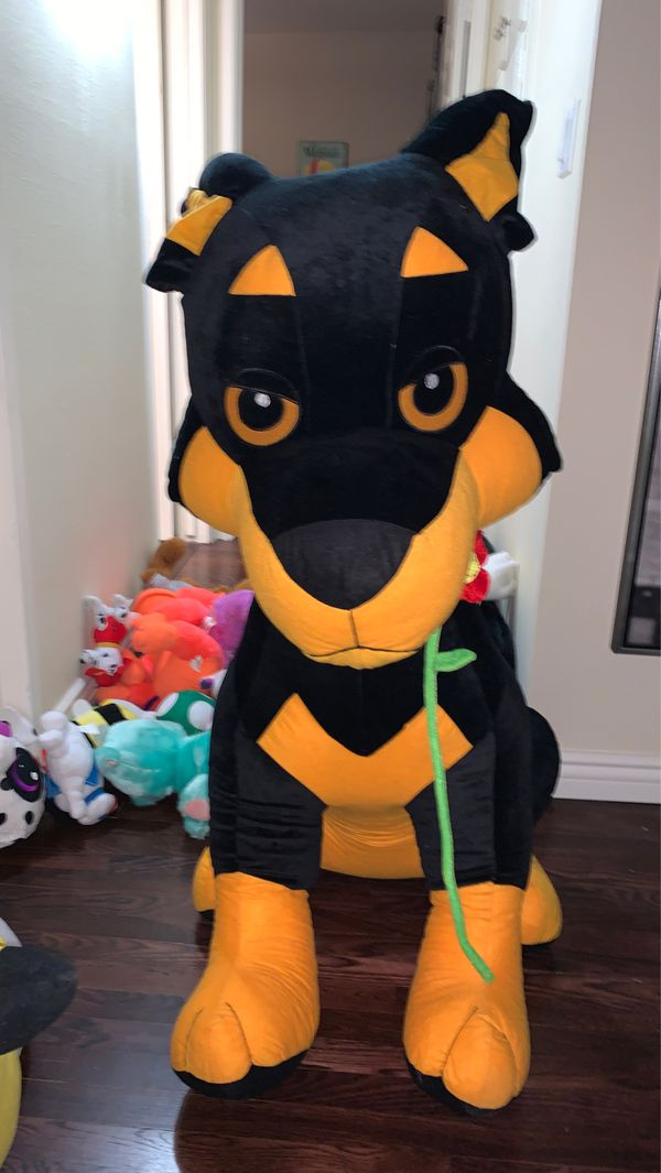 Lifesize dog plush