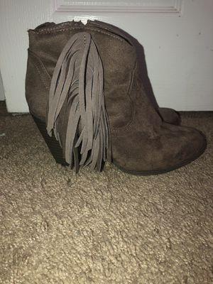 Grey booties for Sale in Bakersfield, CA
