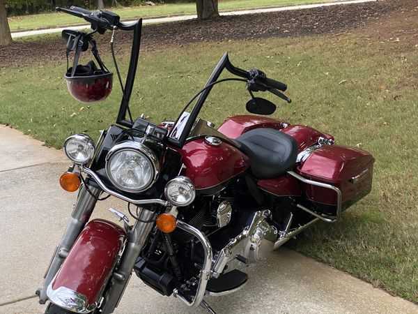 "HARLEY DAVIDSON 2014 ROAD KING 21"" CUSTOM PAINT APES"