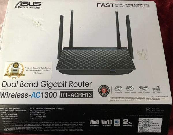Asus Dual- band Rt-acrh13