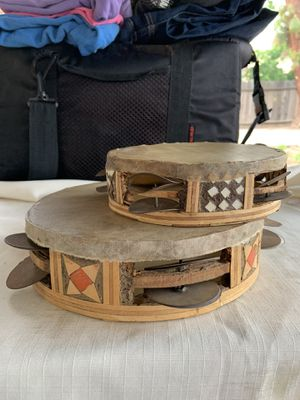 VINTAGE TAMBOURINES SET for Sale in Fresno, CA