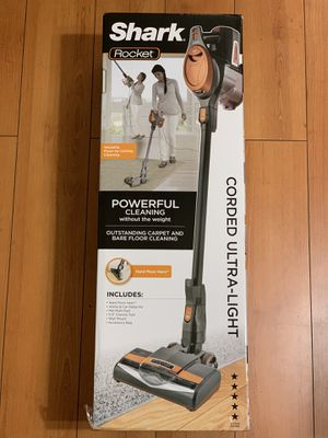 Shark Rocket Ultra-Light Corded Bagless Vacuum for Carpet and Hard Floor Cleaning HV302 for Sale in Garden Grove, CA