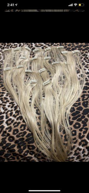 Hair clip extensions for Sale in Avondale, AZ