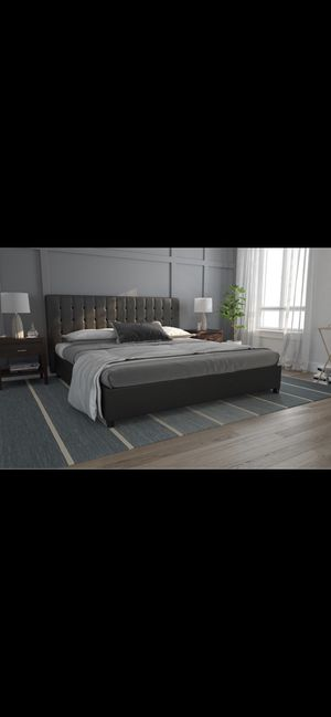 King sized bed FRAME for Sale in Cleveland, OH