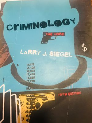 Criminology for Sale in Chino Hills, CA