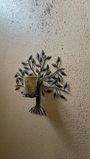 Metal wall hanging candle holder for Sale in Stafford, TX
