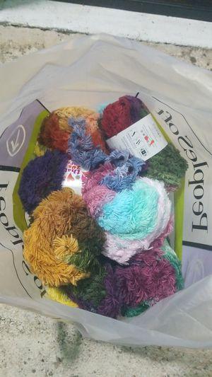 Bag of yarn for Sale in Orlando, FL